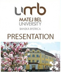 Matej Bel University Presentation