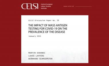 Náš Lukáš Lafférs spoluautorom štúdie o antigénovom testovaní na COVID-19