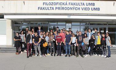 Exkurzia gymnazistov z Lučenca